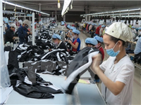 A textile and garment business in Ha Nam province (Photo: VNA)