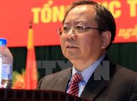 Thứ trưởng Bộ Tài chính Đỗ Hoàng Anh Tuấn. (Ảnh: Hoàng Hải/TTXVN)