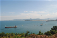 Lien Chieu Port in Da Nang is one of a key project in infrastructure development (Illustrative photo: VNA)