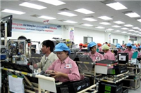 After 30 years, Dong Nai province has attracted nearly 1,550 projects in its industrial zones, with total capital of more than 25 billion USD (Photo: VNA)