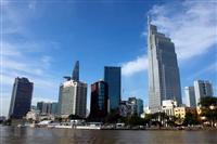 Một góc trung tâm quận 1, Thành phố Hồ Chí Minh. Ảnh minh họa. (Ảnh: Hoàng Hải/TTXVN)