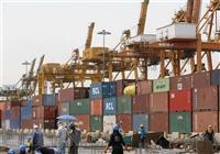 Hàng hóa được xếp tại cảng ở Bangkok, Thái Lan. (Ảnh: AFP/TTXVN)