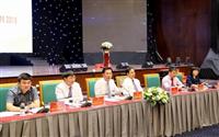 Lãnh đạo tỉnh Quảng Ninh giải đáp các thắc mắc của doanh nghiệp. (Nguồn: baoquangninh.com.vn)