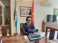 Vietnamese Ambassador to India Pham Sanh Chau (Photo: VNA)
