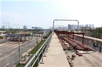 Metro Line No 1, Ben Thanh-Suoi Tien, of HCM City under construction (Photo: VNA)